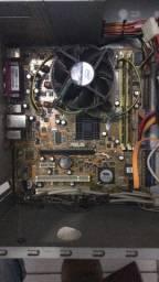 CPU retirada de peças