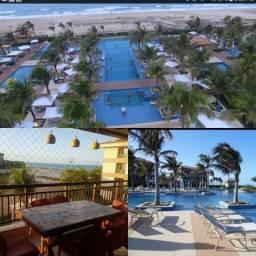 Alugo apt luxo mobiliado 4 suites condominio mandara lanai porto das dunas