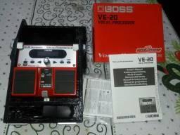 Pedaleira de Voz -Boss Ve 20
