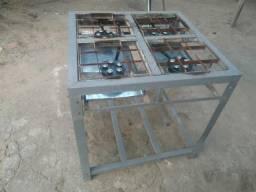Fogão industrial 4bocas