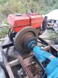 Motor tobata de 10cv para irrigação com bomba d'água