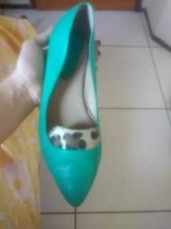 Sapatilha verde