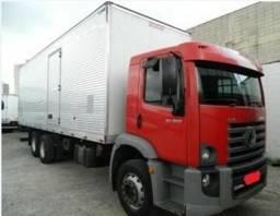 Vw 24250 baú vermelho 2009 2010