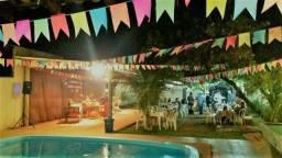 Espaço para festas, eventos e confraternizações