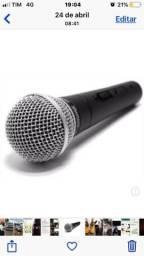 Microfone para voz shure original pride.