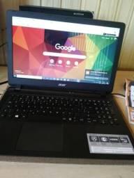 Notebook Acer seminovo