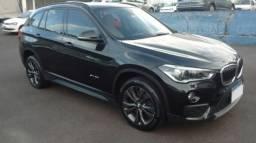 BMW X1 4X2 NAC. SDRIVE20I GP 2.0 16V 192CV ACTIVEFLEX Preto 2016/2016 - 2016