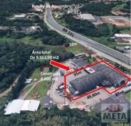 Galpão à venda, 4000 m² por R$ 12.000.000,00 - São Marcos - Joinville/SC