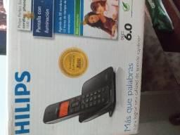 Telefone sem fio R$ 100,00 Novinho