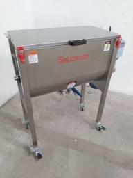 Misturador Ribbon Blender Industrial Produção dia 1.2 toneladas