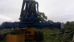 Empilhadeira Reach Stacker Madal 4018 Container