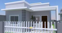 Casa Geminada com 02 Quartos em Itapoá