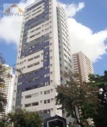 Apartamento com 2 quartos para alugar, 64 m² por R$ 1.835/mês com taxas- Rosarinho - Recif