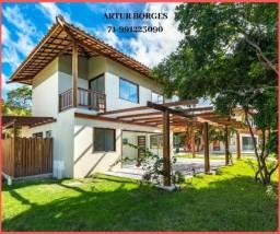 Bela Casa 4 suítes, 195m², 3 vagas, em Praia do Forte Bahia