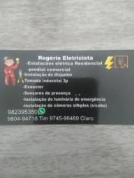 Eletricista. e técnico de manutenção de smartphone
