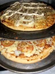Rodízio de pizza em casa?