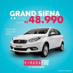 FIAT GRAND SIENA 1.4 MPI ATTRACTIVE 8V FLEX 4P MANUAL - 2020
