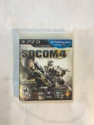 Jogo PS3 SOCOM 4 + SHARP SHOOTER