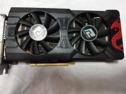 Placa de Video Radeon Rx 570 4gb Red Dragon