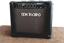 Amplificador Meteoro Nitrous Drive 15 Combo Transistor 15W preto 110V/220V
