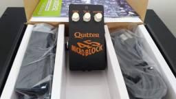 Quilter Microblock 45 Amplificador em formato de pedal Cabe em qualquer pedalboard
