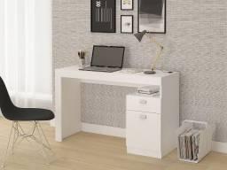 Escrivaninha/ Mesa para Computador com 1 gaveta e 1 porta- Entrega Rápida