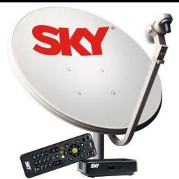 Vendo kit antena sky