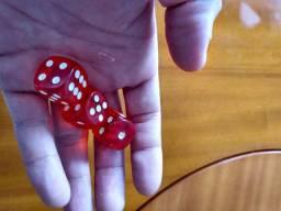Dados profissionais para poker e outros jogos aceito cartão e trocas