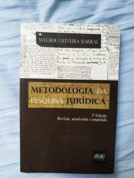 Livros Metodologia da Pesquisa Jurídica / Protesto Extrajudicial