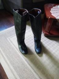 Bota de couro masculino ( impermeável)Gaúcho