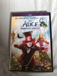 Dvd alice através  do espelho