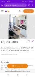 Costa Atlântica ventilado liga 9 8 7 4 8  3 1 0 8Diego9989f