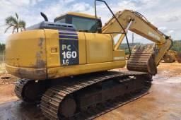 Escavadeira Komatsu PC160 - Ano 2006