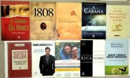 Livros diversos 3 por R$ 40