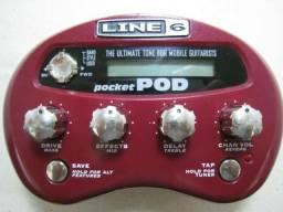 Título do anúncio: Pedaleira Line 6 Pocket Pod