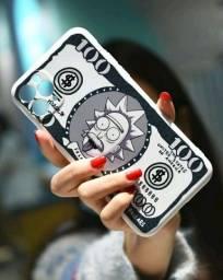 capinha rick and Morty para todos os tipos de iphone
