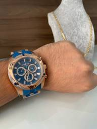 Relógio Invicta Original + Caixa e manual + cordão banhado de brinde!