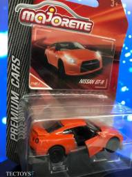 Miniatura Nissan Gt-r Majorette Premium 1/64