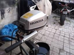 Motor de Popa 5 Hp Honda 4Tempos