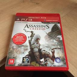 Assassins creed 3 - ps3 - red
