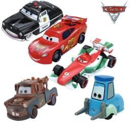 KIT com 5 Carros - Disney 1:55