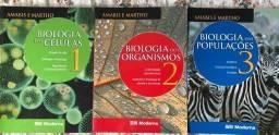 Título do anúncio: Livros de biologia- Amabis e Martho