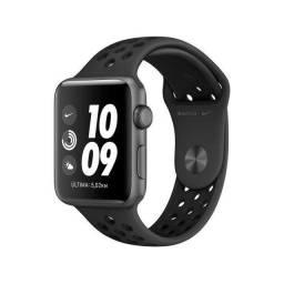 Título do anúncio: Applewatch serie 3 38mm Gps Nike lacrado