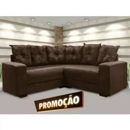 Grande Promoção - Sofá de Canto Patrícia (Ele Voltou!!!!) - Só R$1.049,00