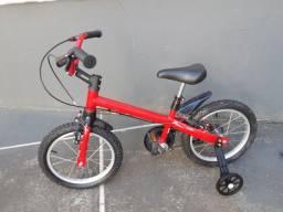 Bicicleta infantil- nathor aro 16- nova - nunca usada.