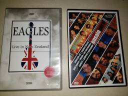 DVD´s originais Eagles ao vivo na Nova Zelândia e Ensaio ? rock nacional