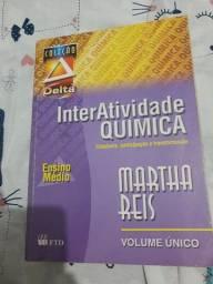 Livro InterAtividade Química Martha Reis