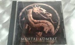 CD Mortal Kombat trilha sonora original