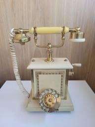 Título do anúncio: Telefone Antigo Teleart Década 70 Peças Ericsson