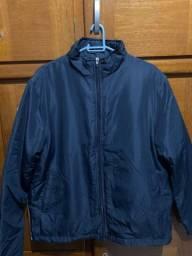 Jaqueta azul marinho tamanho P